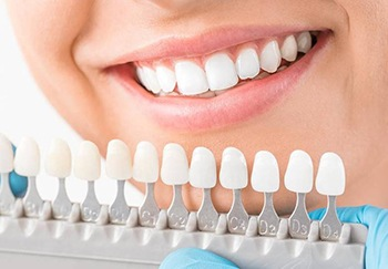 Dental crown color matching guide