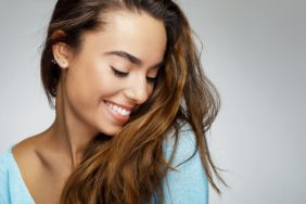 Woman with a beautiful smile