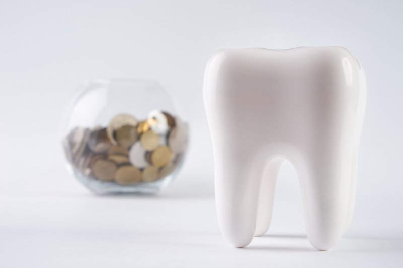 Tooth and coins